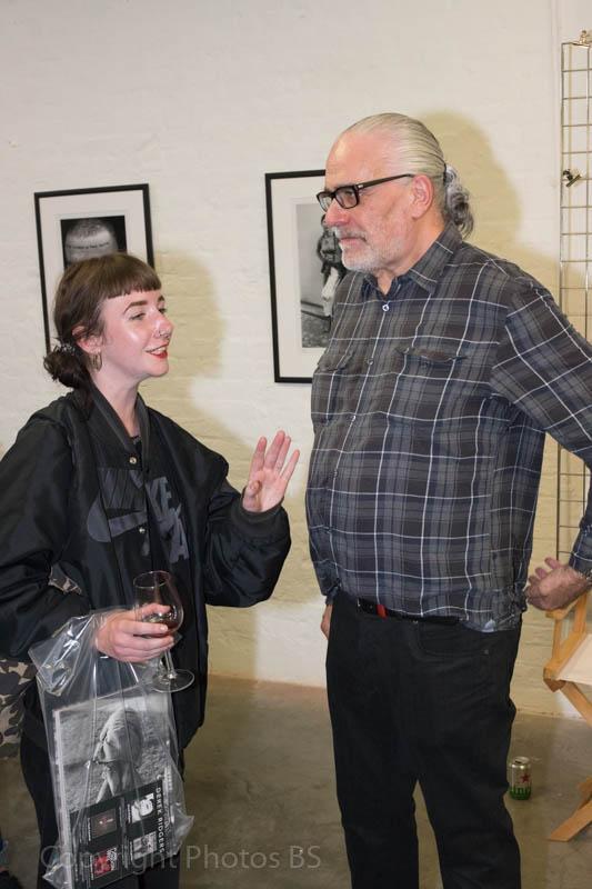 4 October 2018 Derek Ridgers pop up gallery