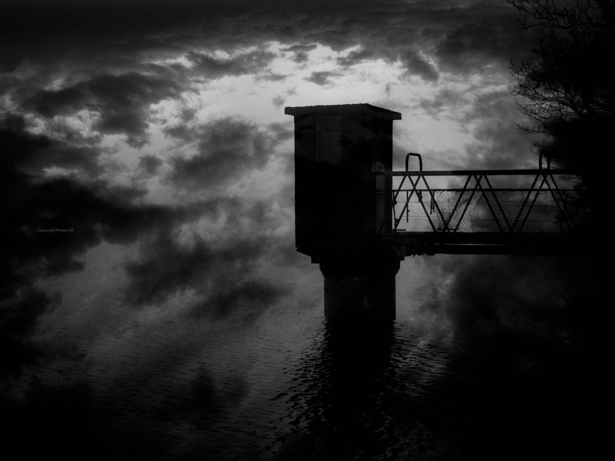 Landscapes Dark Outpost