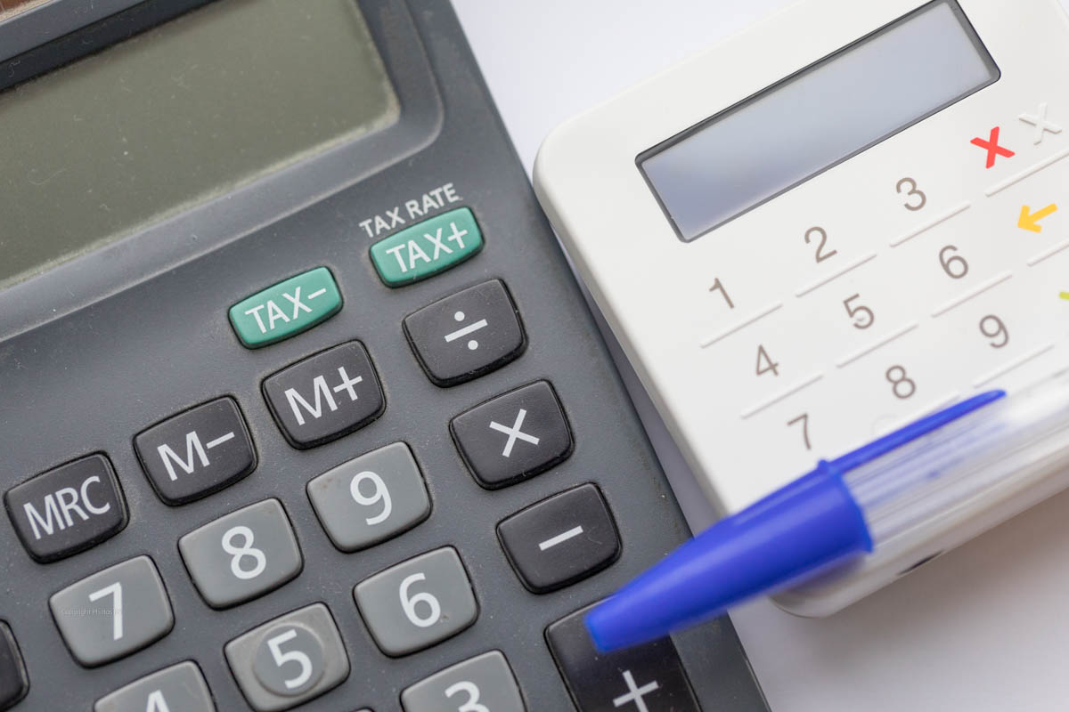 Calculator and Card reader