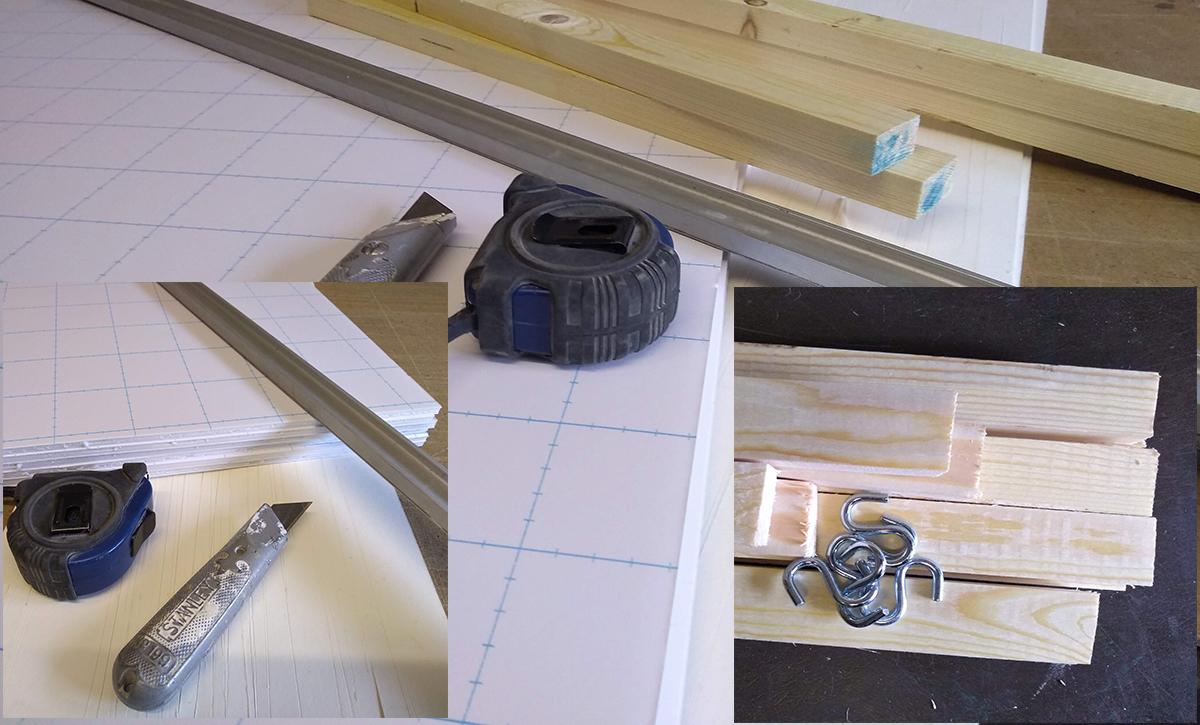Buzy week cuting foam board
