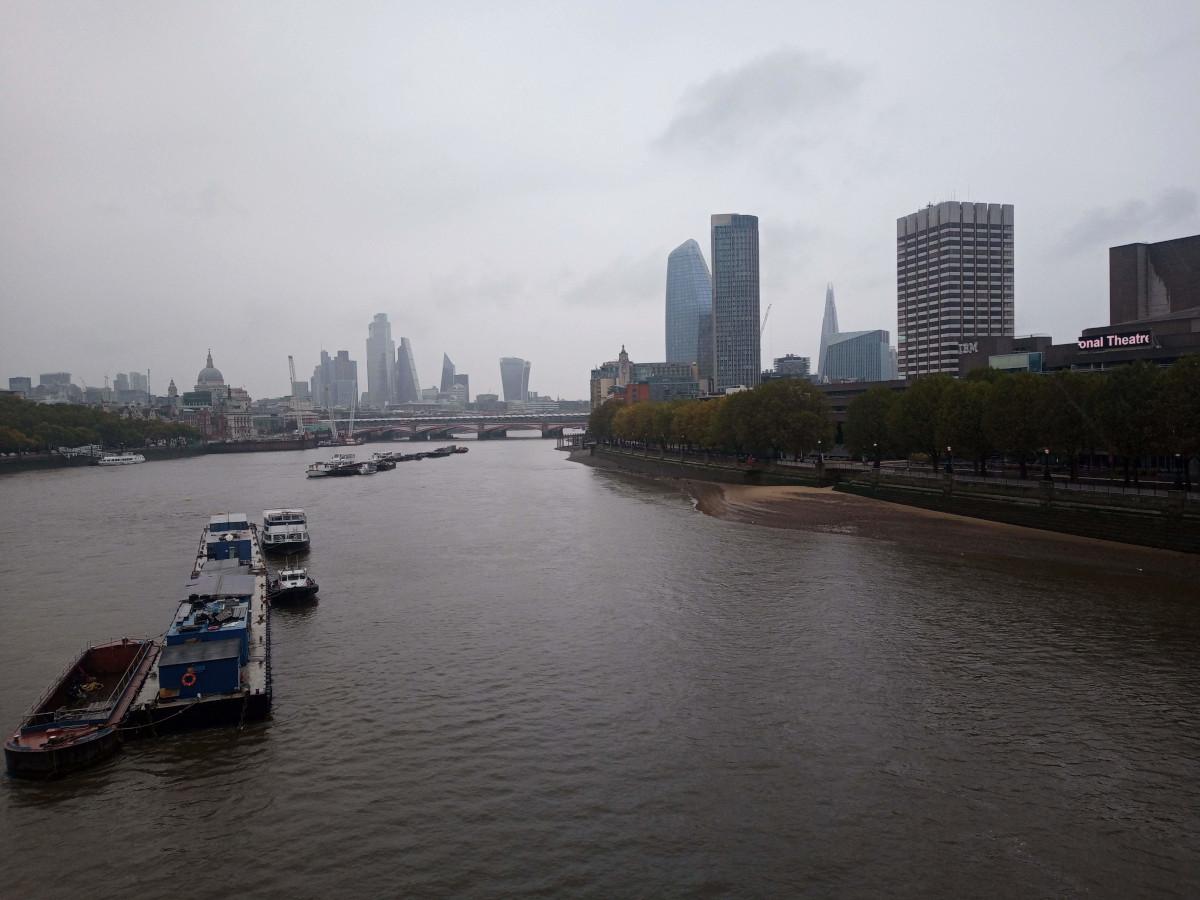 London looking very Grey